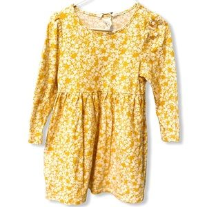 H&M | Yellow Floral Dress (3-4 yrs) 🌼